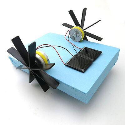 NEW Solar paddle wheel boat Hand-made boat Technology small production DIY, used for sale  Shipping to Canada