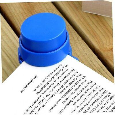 Office Home Staple Free Stapleless Stapler Paper Binding Binder Paper Clips