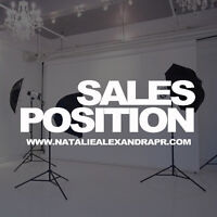 Sales Person Needed for Media/PR/Marketing Agency