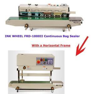 INK wheel coder  Vertical orientation stand  dual-use INK wheel coder Continuous Bag Sealer (Item# 181018)
