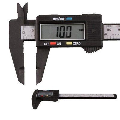 Lcd Digital Electronic Caliper Vernier Carbon Fiber Gauge Micrometer 150mm 6inch