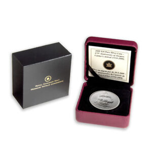 2009 $20 Jacques Cartier - Pure Silver Coin