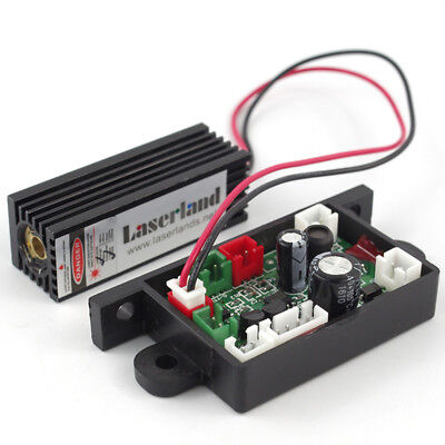 Laserland Focusable 150mw 650nm 655nm 660nm Red Laser Module Diode With 12v Ttl