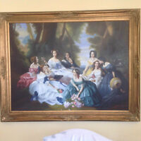 Portrait Of 'Empress Eugenie Surrounded By Her Maids Of Honor'