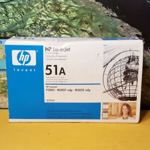 GENUINE HP 51A Q7551A Black Toner Cartridge ~ P3005 M3027 M3035
