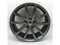 """18"""" Vancouver Alloy Wheel and Tyre Package 5X112 VW Golf, Jetta, Audi A3, Seat Leon"""