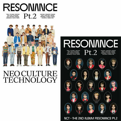 NCT 2020 RESONANCE PT.2 2nd Album DEPARTURE+ARRIVAL 2 Ver SET FULL PACKAGE+GIFT