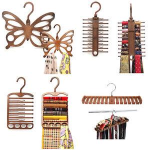 NEW-Scarf-Muffler-Necktie-Belt-Holder-Hanger-CLOSET-ORGANIZER