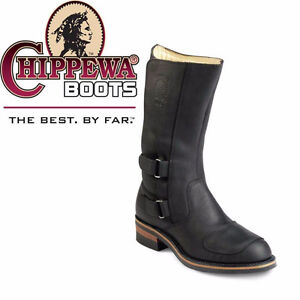 "Motorcycle Chippewa® 12"" Rally Boots"