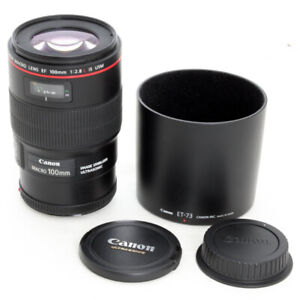 Canon 100mm f2.8 IS USM