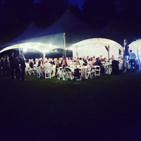 High Peak Tent Rentals - Chairs, Tables, Linen, Dish Rentals