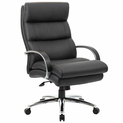 Boss Office Big And Tall Leather Swivel Executive Office Chair
