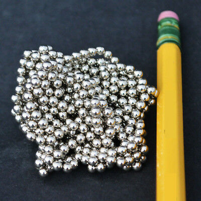 200 Strong Magnets 3mm 18 Neodymium Spheres Balls - Free Shipping