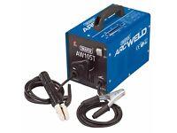Draper 53082 100A 230V Turbo Arc Welder + Rods 09584 100 amp welding
