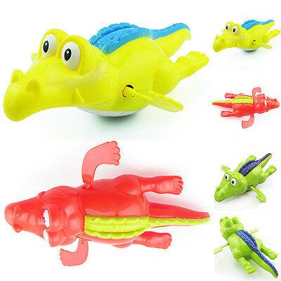 1PCS Baby Clockwork Crocodile Infant Swimming Bath Animal Toys Pool Alligator US