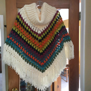 New Adult Homemade Poncho