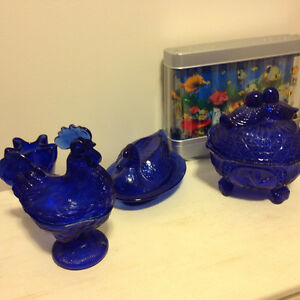 Blue Glass Collection Mint Condition Kingston Kingston Area image 3