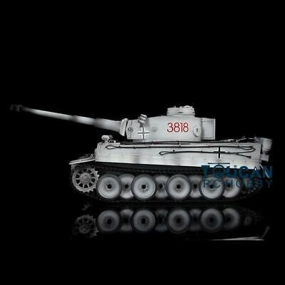 Henglong 1/16 Scale Snow 6.0 Plastic Ver German Tiger I RTR RC Tank 3818 Model for sale  Shipping to Canada