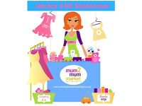 Mum2mum Market - Henley - Saturday Sept 24th, 2 - 4 pm. Children & baby items, nearly new sale