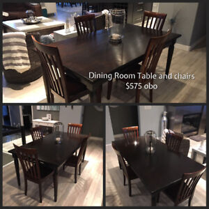 Dining Room Table C W 4 Chairs