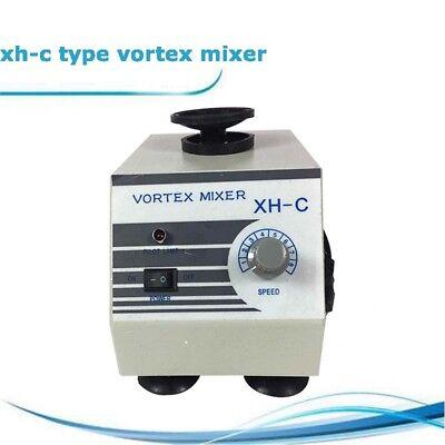 110v Xh-c Stepless Vortex Mixer Test Tube Shaker Lab Mixers 03000rpm 60w