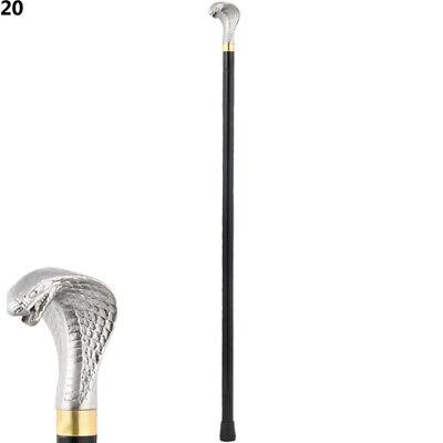 95 CM LONG GENTLEMEN'S CLASSIC STYLE DESIGN WALKING STICK PEWTER HANDLE (CM-20