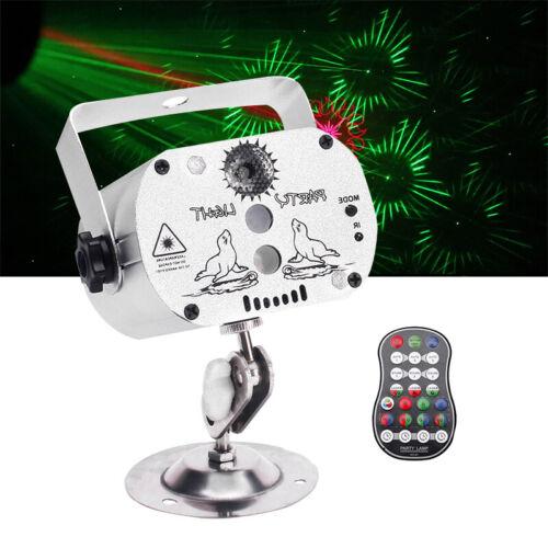Muster RGB Laser Bühnenbeleuchtung DJ Projektor Disco LED Lichteffekt Lampen UK