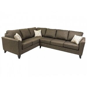 Large Nova sectional, Made in BC, over 100 fabrics to pick from!