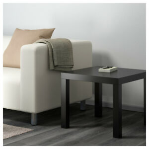 IKEA lack side table (two piece, Black & White)