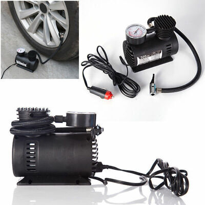 Electric Inflatable Mini Tire Pump Air Compressor Tyre Pressure Monitor