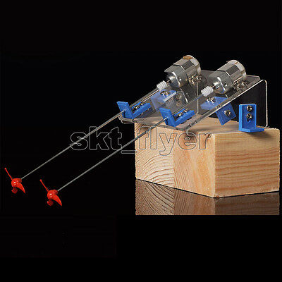 12cm Boat Toy Kit Propeller Motor Shaft DIY Model Hobby Learning Hand Watercraft