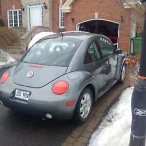 Volkswagen New Beetle impeccable, seulement 60000kms