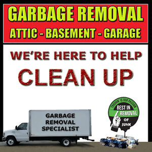 GARBAGE REMOVAL SPECIALIST - AT YOUR SERVICE TODAY