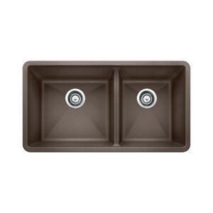 Blanco 400585 Precis U 1.75 Undermount Double Kitchen Sink