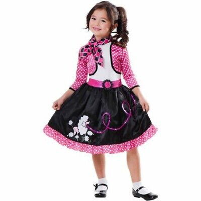 Sock Hop Girl (GIRL`S COSTUME SIZE  4-6  * SOCK HOP SWEETIE  BACK IN TIMES)