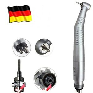 Dental Handstück Handpiece Fiber Optic LED Push Button Air Turbine E-generator