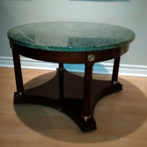Marble coffee/end tables
