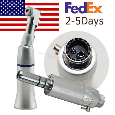 2hole Dental Slow Low Speed Handpiece Contra Angle Hand Piecee-type Air Motor