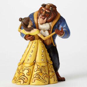 Disney by Jim Shore Beauty and the Beast Belle Dancing Stone Res