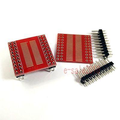 2pcs So Sop Soic Ssop Tssop Msop 40 Pin 1.0mm 1.27mm To Dip Pcb Board Converter