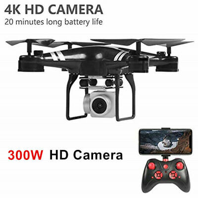 KY101 Drone 0.3MP Camera APP FPV 2.4G Wifi Altitude Quadcopter With Battery UK