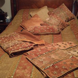 Ensemble douillette pour grand lit queen