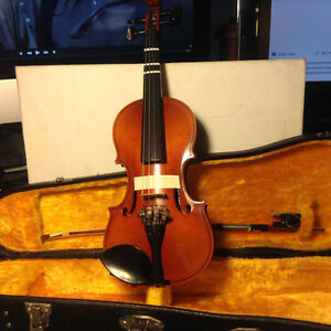 Nagoya Suzuki 1/8 Violin Signed Japan Highest Quality Student Ex