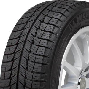 4 LIKE NEW 17 Inch Michelin X-ICE Xi3 Winter Tires 255/65R17