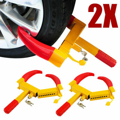 RV Boat Trailers Heavy Duty Anti Theft Towing Security Device Motorhot Wheel Lock Clamp Boot Tire Claw Auto Car Parking Truck ATV