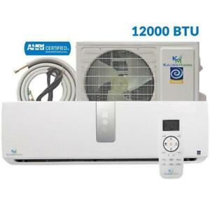 Mini Split Air Conditioner - Wall Ductless Heat Pump - AC Unit - Cooling & Heating at a Great Price!
