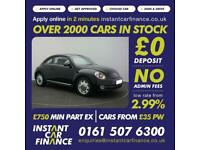 Volkswagen Beetle 1.6TDI(105ps)BlueMotion Tech DSG 2014MY Design FROM £45 PW