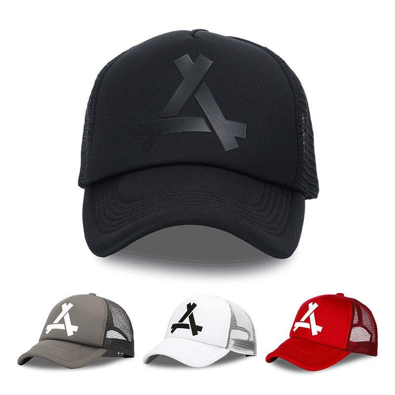 Summer Breathable Mesh Baseball Cap Men Women Polyester Casual Sport Hats