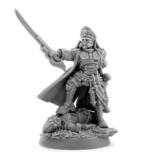 Wargame Exclusive Imperial Iron Commissar Imperial Guard 28mm