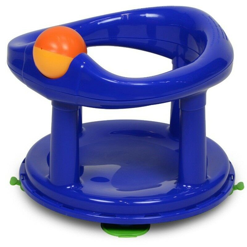 Blue baby bath seat with toy   in Bulwell, Nottinghamshire   Gumtree